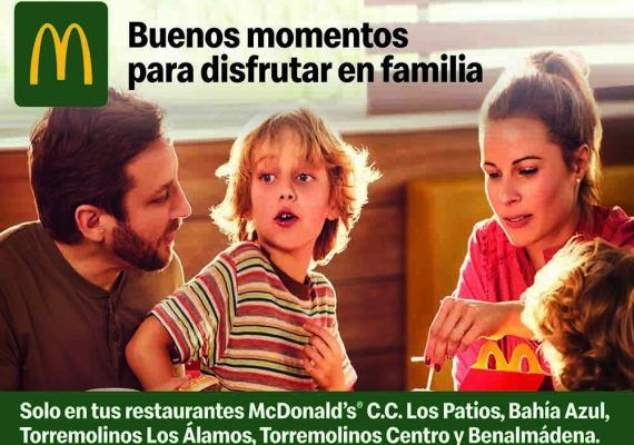 Compra 2 McMenú grandes y consigue un Happy Meal gratis con el carné de La Diversiva