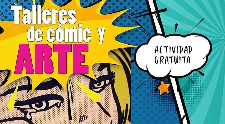 Taller de cómic gratis en Torremolinos para adolescentes