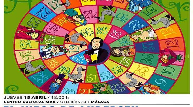 Taller infantil gratis de animación a la lectura con juego de la oca gigante en Málaga