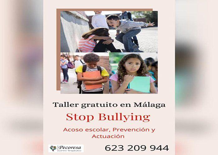 Taller gratis en Málaga para aprender a frenar el bullying y el acoso escolar