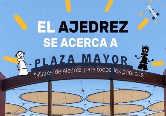 Talleres de ajedrez gratis para niños, jóvenes y adultos en Plaza Mayor