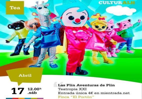 """Teatro infantil en Alhaurín de la Torre: """"Las Plin, Aventuras de Plin"""""""