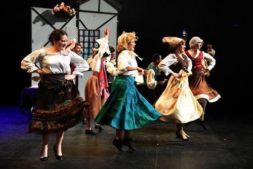 Teatro musical La Cenicienta en el TAF de Estepona, Málaga