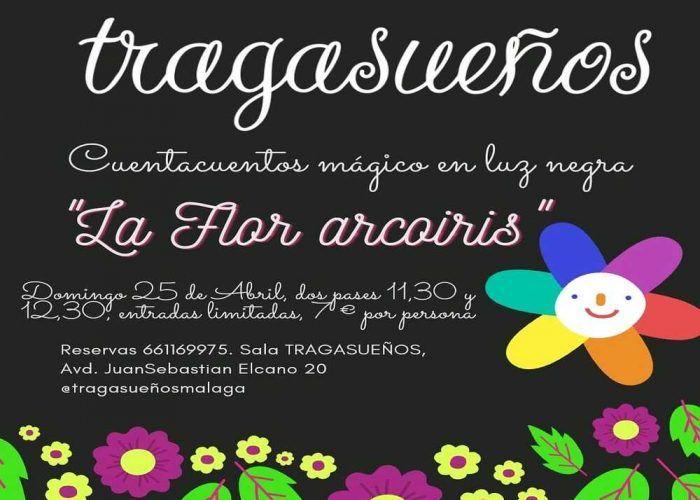 """Cuentacuentos infantil en Málaga: """"La Flor arcoíris"""""""