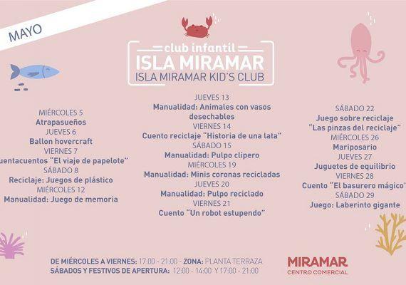 Actividades gratis para niños en el club infantil del Centro Comercial Miramar (Fuengirola)