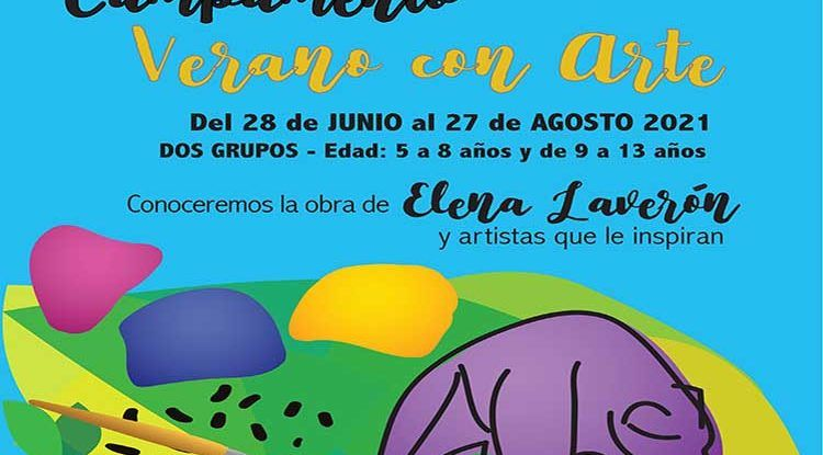 Campamento de verano con mucho Arte en Torremolinos con Artenanos