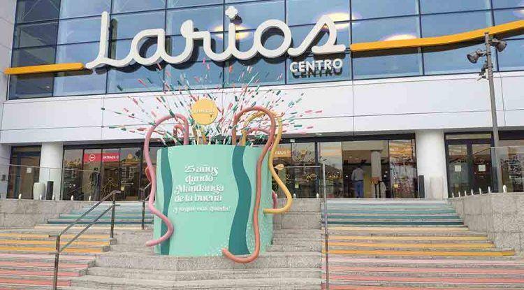 Larios Centro celebra su 25 aniversario con días de sorpresas, regalos y actividades para todos los públicos