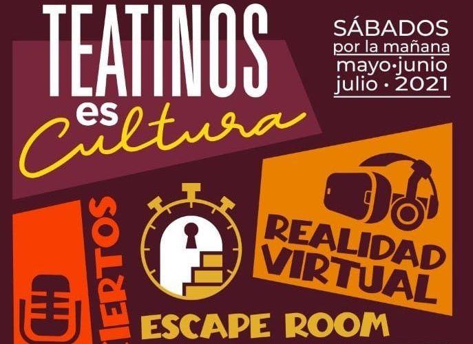 Programa cultural de actividades con niños los sábados en Teatinos