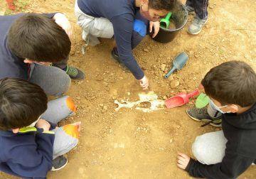 Campamento de verano prehistórico para niños en Málaga con ArqueoEduca