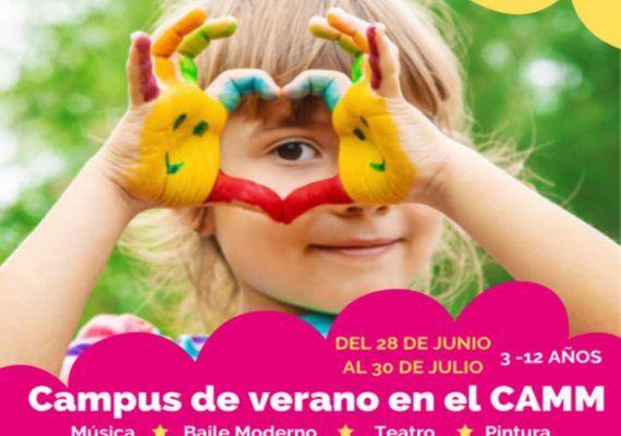 Campus de verano infantil en el Centro de Artes y Música Moderna