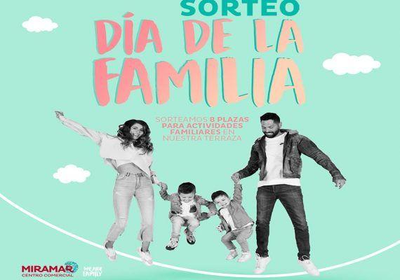 El Centro Comercial Miramar sortea 8 plazas para sus actividades por el Día de la Familia