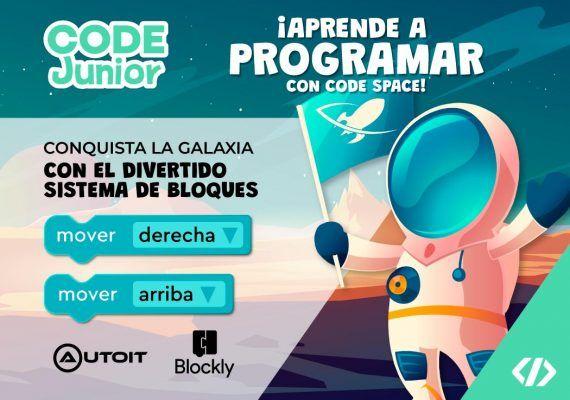 Curso de programación para niños en Málaga con la academia Code Space
