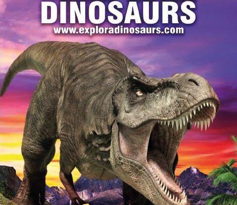 Exposición de dinosaurios a tamaño real en Málaga y Alhaurín de la Torre