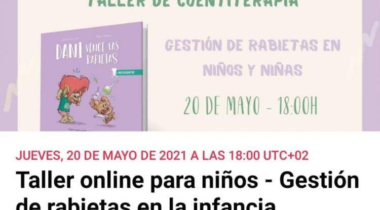 Gestión de las rabietas en niños: Cuentiterapia gratis con Editoral Sentir