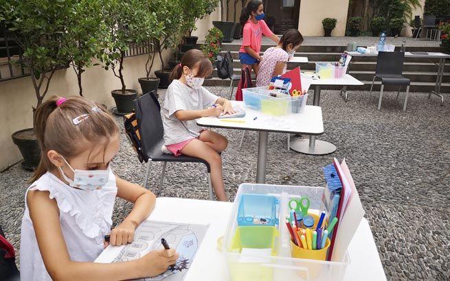 Talleres infantiles de verano en el Museo Picasso Málaga