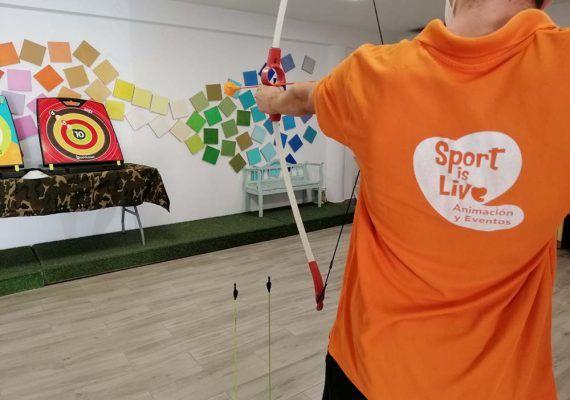 Campamento de verano para niños en el nuevo local de Sportislive con multitud de juegos y talleres