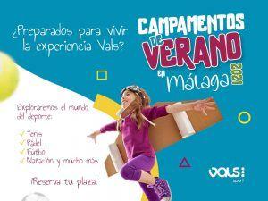 Campamento de verano deportivo para niños y adolescentes con Vals Sport Málaga