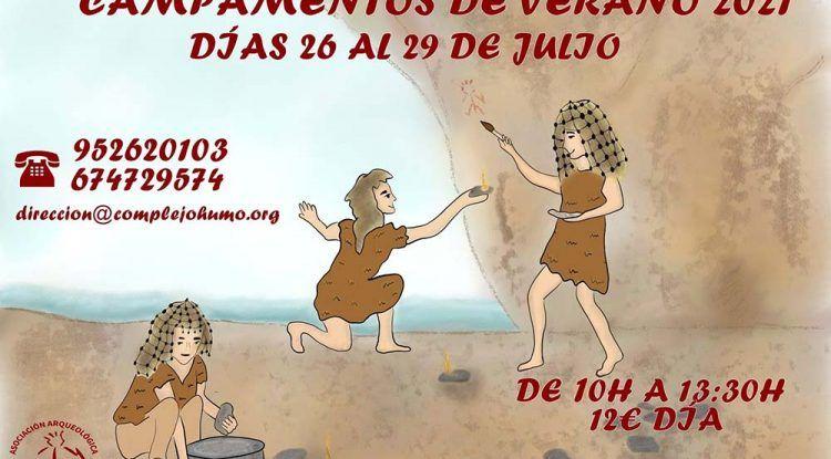 Talleres infantiles de verano en los Yacimientos Arqueológicos de La Araña