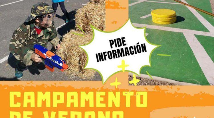 Campamento de verano al aire libre para niños en Verdecora Málaga con huerto, deportes y fiestas sorpresas