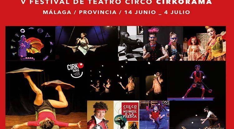 Festival Cirkorama: circo y talleres para familias con niños en Málaga y su provincia
