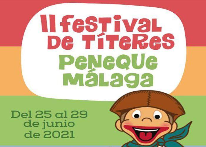 Festival de Títeres gratis en Málaga para niños y niñas a partir de 3 años