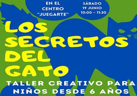 Taller creativo para niños en Rincón de la Victoria con JuegArte: 'Los secretos del gato'