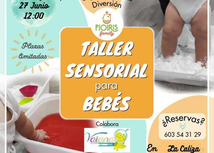 Taller sensorial para bebés