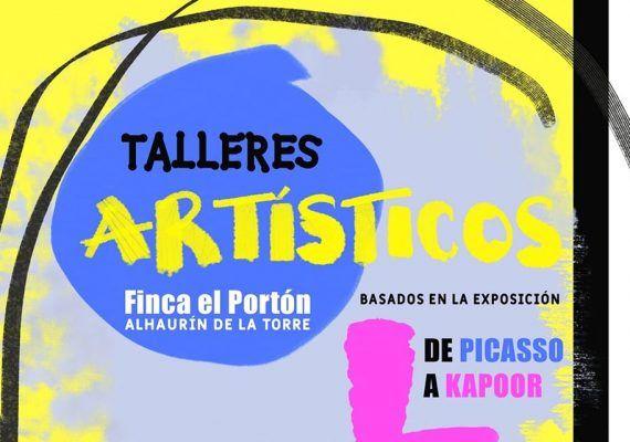 Talleres artísticos de verano para niños en la Finca El Portón de Alhaurín de la Torre