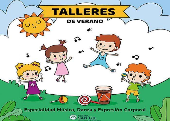 Campamento de verano con mucha música, danza y yoga para los más peques en Clínica San Gil (Málaga)