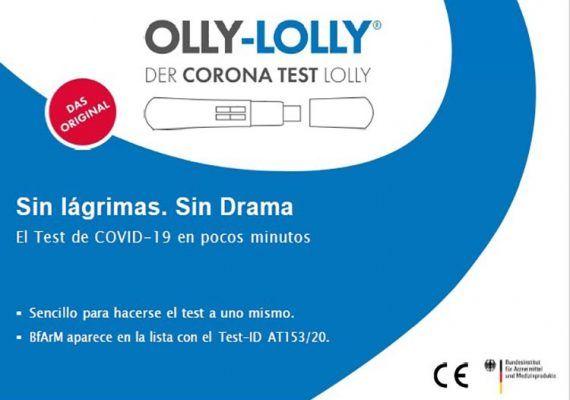 Test de COVID 19 para niños y jóvenes: práctico, sencillo, efectivo y sin llantos ni dramas