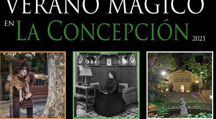 Visitas teatralizadas en familia este verano en el Jardín Botánico La Concepción de Málaga