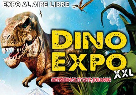 Exposición de dinosaurios al aire libre en Estepona para toda la familia
