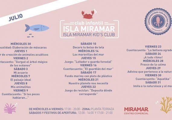 Actividades gratis en el club infantil del C.C. Miramar Fuengirola