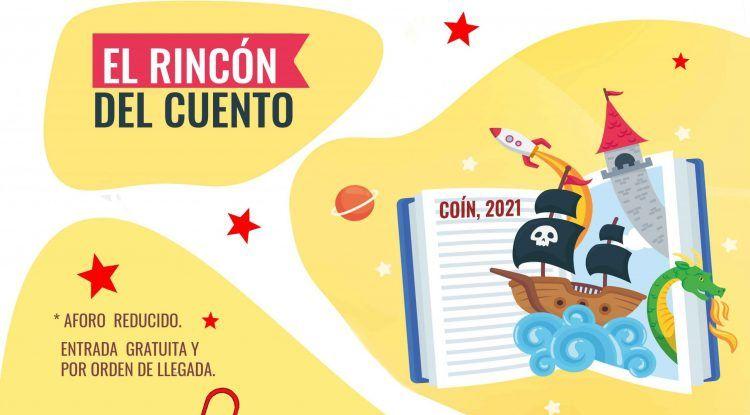 Cuentacuentos gratis para niños en Coín: El Rincón del Cuento