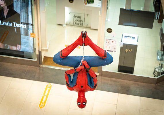 Los superhéroes favoritos de los niños llegan al Larios Centro en una exposición gratis