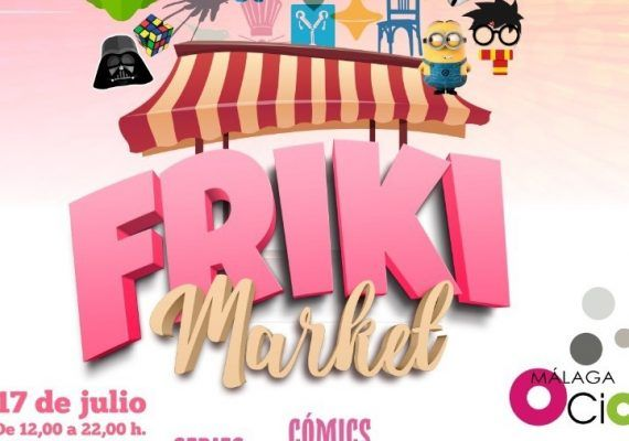 Friki Market: ocio en familia en el Mare Nostrum el 17 de julio