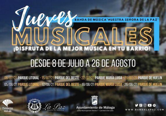 Jueves musicales: actividades gratis en familia en Carretera Cádiz