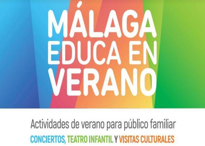 Málaga Educa en Verano: actividades culturales gratis en familia