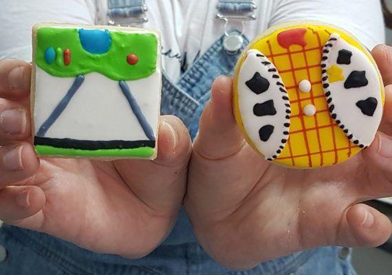 Repostería creativa con niños: galletas de Toy Story
