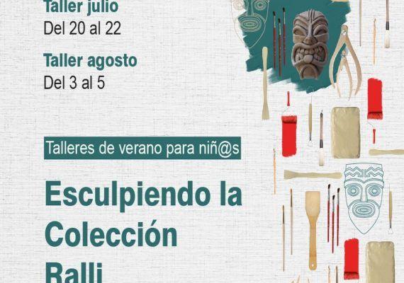 Taller de escultura gratis para niños en el Museo Ralli de Marbella