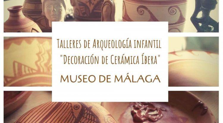 Taller gratis de arqueología para niños en el Museo de Málaga