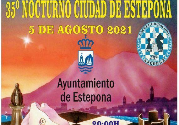 Torneo nocturno de ajedrez gratis en el Paseo Marítimo de Estepona