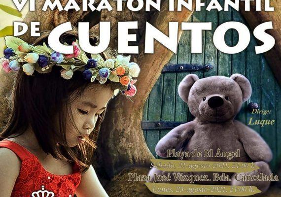 Maratón Infantil de Cuentos para niños gratis en Estepona
