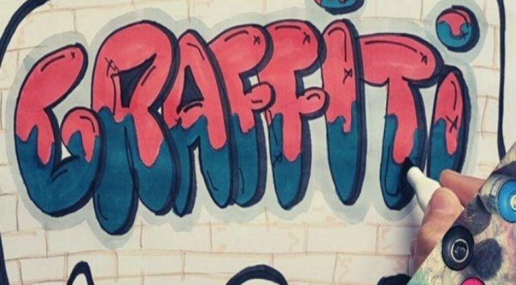 Taller de grafitti con Street Art Málaga para niños y niñas