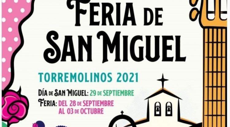 Feria de Torremolinos con atracciones y caseta infantil