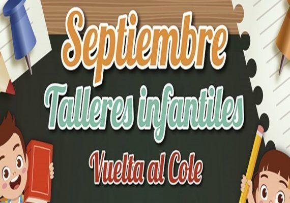 Talleres gratis en el Centro Comercial Rosaleda para niños