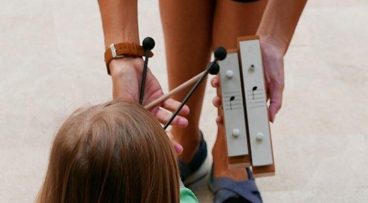 Actividades para padres y bebés los fines de semana en el Museo Carmen Thyssen
