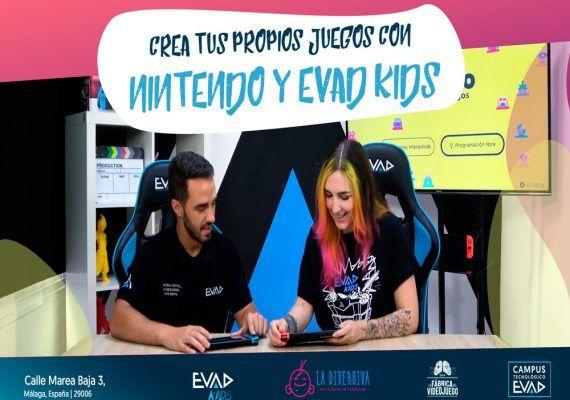Curso de programación para jóvenes: EVAD y Estudio de Videojuegos